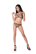 Davon Kim Bengal tigress istripper model