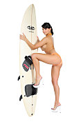 Sarah Surf city istripper model