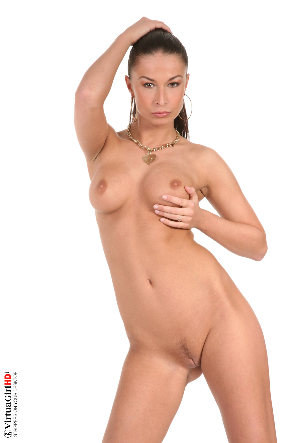 naked girl wall paper