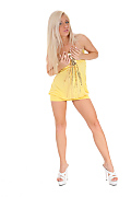 Candy Blond Lemon Candy istripper model