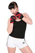 Ally Style Right hook istripper model