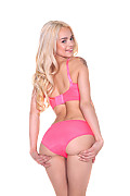 Elsa Jean Cheerful Surprise istripper model