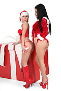 Aletta Ocean & Mandy Dee Big Snowflakes istripper model