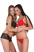 Eufrat & Carie Duo istripper model