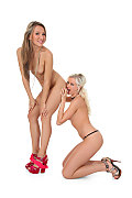 Whitney Conroy & Vicktoria Duo istripper model