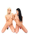 Blanche Bradburry & Nicole Vice Duo istripper model