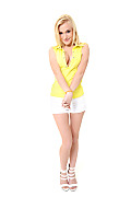 Aislin Mellow Yellow istripper model